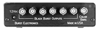 Burst Electronics SG-7-TONE-BL 6 Black Burst Out 1 Bars with Bal Audio