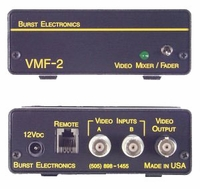 Burst Electronics VMF-2 A-B Video Mixer with Fade to Black