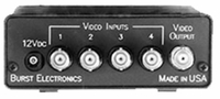 Burst Electronics VS-4X1R Vertical Interval 4x1 Switcher with RS-232