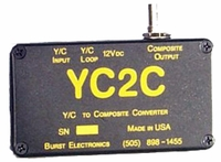 Burst Electronics YC2C YC to Composite Video Converter