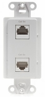Channel Plus WPPDCWE Data/Coax- 1 CAT5e RJ45 & 2 Phone and 2 Knockouts