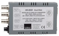 Cobalt 8020 HD/SD Dual-Rate Digital to Analog Dual Output w/Reticules