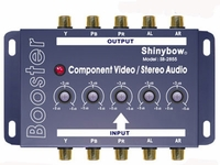 Shinybow SB-2820 Component Video + Audio Booster w/Equalizer