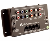 Component Video & Audio Over Cat5 - Distribution Hub