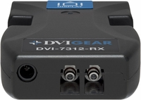DVIGear DVI-7312-Rx Single-Link DVI Fiber Optic Extender Receiver