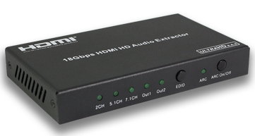 HDMI 18Gbps HD audio extractor 4K@HDCP 2.2