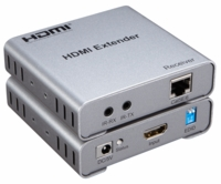 WolfPack HDMI to CAT5 Adapter to 100 Feet w/Audio EDID & HDMI Loopout