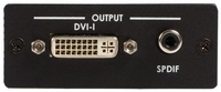 HDMI to DVI-D with SPDIF Audio Converter
