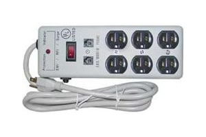 HDTV Surge Protector - just for HDTV's - 6 Outlets - 4 AC Cord Lengths