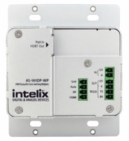 Intelix AS-1H1DP-WP-W HDMI/DisplayPort Auto-Switching w/HDBaseT Output