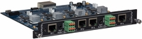 Intelix FLX-BO4A Output Card for Card-Based Matrix Switcher
