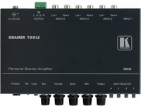 Kramer 902 4x1 Personal Stereo Audio Amplifier & Switcher