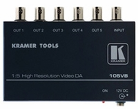 Kramer 105VB 1x5 Composite Video Distribution Amplifier