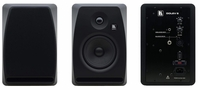Kramer DOLEV-5-BLACK 5-Inch, Two-Way Bi-Amplified Studio Grade Speaker