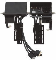 Kramer TBUS-202XL-BC Dual Pop-Up Table Mount Multi-Connection Solution