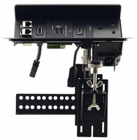 Kramer TBUS-203XL-B Pop-Up Table Mount Multi-Connection Solution