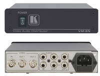Kramer VM-2N 1:2 Composite/SDI Video & Stereo Audio Amplifier
