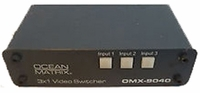 Ocean Matrix 3x1 Vertical Video Switcher