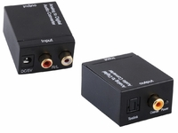 Optical or Coax to Stereo Audio Converter