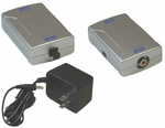 Optical Toslink Audio to Coaxial Converter w/optical cable