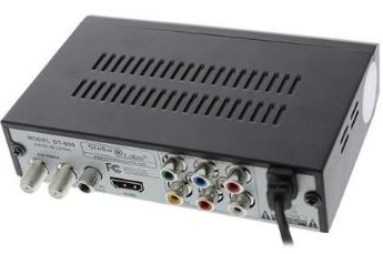 OTA Antenna HD Tuner with HDMI Out & Coax Input