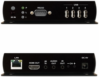 PureLink VIP-200H Rx HDMI & USB/KVM over IP Receiver/Decoder