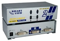 QVS 2x1 2Port DVI Digital Video Share Switch