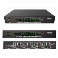 SB-3709M - 1x8 S-Video/Stereo Audio Distribution Amplifier - TAA Compliant
