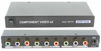 Shinybow SB-3776RCA 1x2 Component Video Desktop Splitter w/RCA Outs