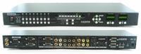 8X4 Multi-Video Matrix Switch - 8 In's Converted to (2) VGA & HDMI Outs - 1 Left