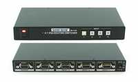 Shinybow SB-4106 4x1 VGA/HDTV Selector Switch with IR Control