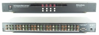6x4 Component Video/Stereo Audio Matrix Switcher