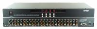 Shinybow SB-5644 4x4 Component Video + Audio Matrix Switcher