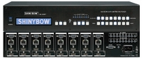 8x8x2 HDMI w/16 Outs & HDBaseT Over Single CAT5 Matrix Switcher