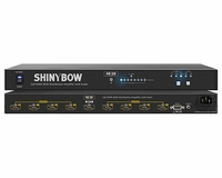 Shinybow SB-5658K 1x8 HDMI UHD 4k2k Distribution Amplifier w/scaler - TAA Compliant