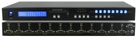 Shinybow SB-4148LCM 4x8 VGA w/ Stereo Audio Matrix Routing Switcher