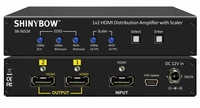 Shinybow SB-5652K 1 x 2 HDMI - UHD 4K2K Distribution Amplifier with Scaler - TAA Compliant