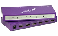 SmartAVI HDSW-51 Switch up to 5 HDMI sources to 1 HDTV Device