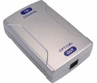 tvONE POF-820 Coaxial-to-Optical Audio Converter