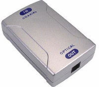 tvONE POF-830 Optical-to-Coaxial Audio Converter