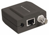 Video Balun (Monitor Side) accepts 18-36VDC, supplies power over Cat5