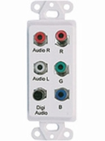 Video Balun Over Cat-5 Component Video Stereo & Digital Audio