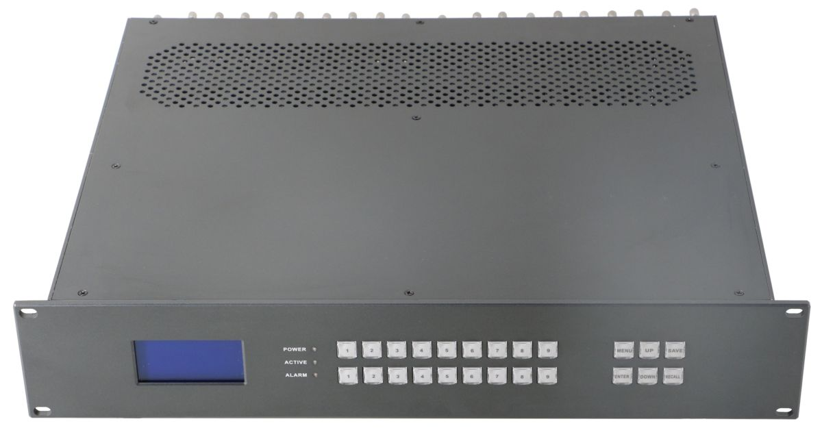 WolfPack 4K 8X8 HDMI Matrix Switcher over CAT6 w/8-HDBaseT Receivers