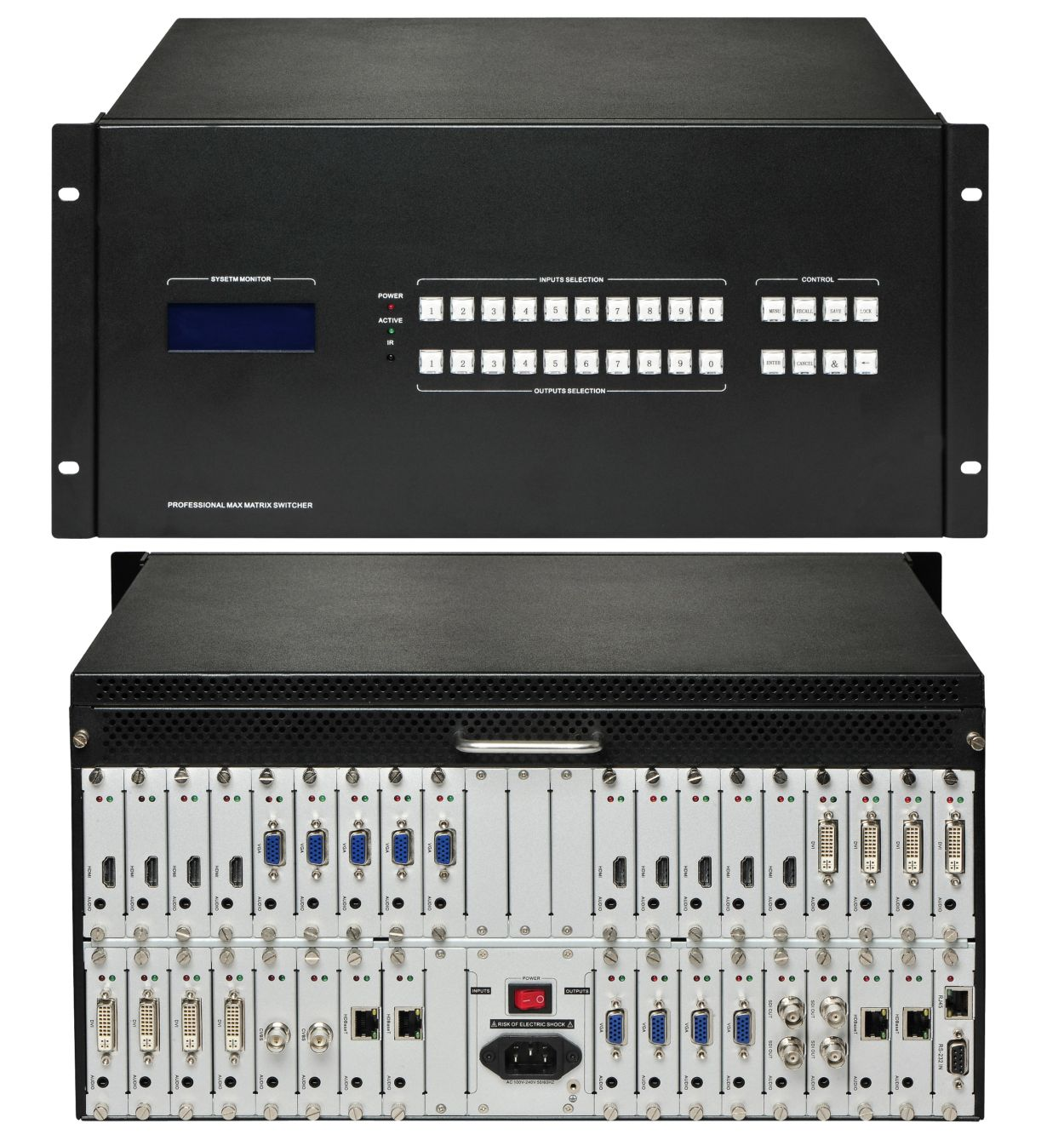 WolfPack Modular HDMI Matrix with Video Wall Integration