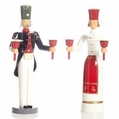 Angel and Miner Candle Holder (Set of 2) - Wolfgang Braun