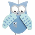 Blue Owl Jumping Jack Toy - Gunther Holzspielwarenmacher