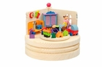 Children's Room Themed Music Box - Graupner Holzminiaturen