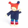 Boy Wearing Warm Winter Attire Doll - Annedore Krebs