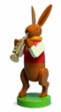 Easter Bunny Musician Playing Trumpet (New in 2015) - Wendt & Kühn