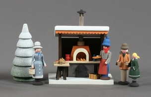 Christmas Market Grill Stand - Glaesser